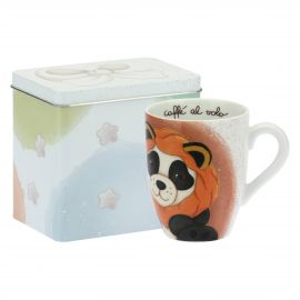 Mug Panda Leo with tin box