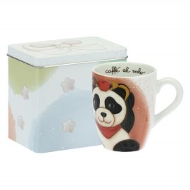 Mug Panda Sagittarius con scatola in latta