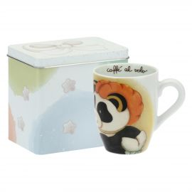 Mug Panda Capricornus with tin box