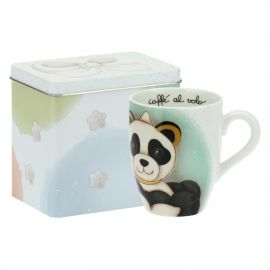 Mug Panda Pisces with tin box