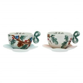 "Set 2 big cups ""Preludio d'inverno"""