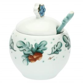 "Sugar bowl with spoon ""Preludio d'inverno"""