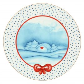 """Big plate """"Preludio d'inverno"""""""