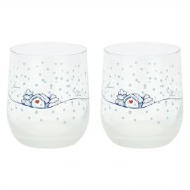 "Set 2 glasses ""Chiaro di luna"""