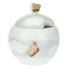 """Sugar bowl """"Pioggia nuvole"""""""