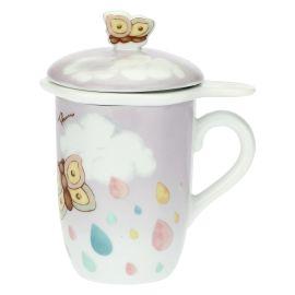 """Teapot """"Pioggia nuvole"""""""