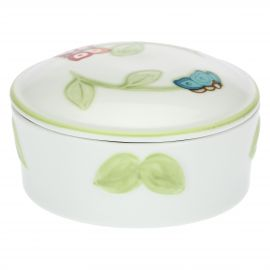 """Farfalle in Festa"" porcelain jewellery box"