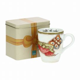 """Tutti Frutti"" mug with tin box"