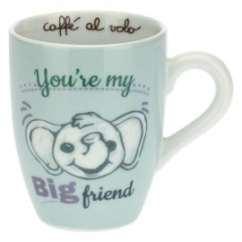 'Henkelbecher mit Elefant – You''re my big friend'