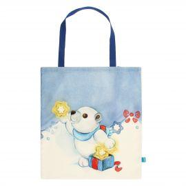 'Dolce inverno' fabric shopper