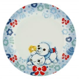 Dolce Inverno small plate with polar bears