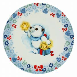 Dolce Inverno multipurpose plate with Paul the Polar Bear