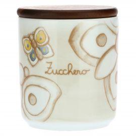Elegance porcelain sugar jar