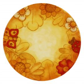 "Large ""Savana story"" multipurpose plate"