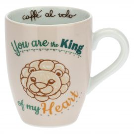 Mug con leone - You are the king of my heart
