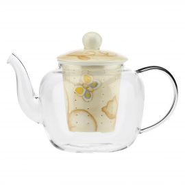 Elegance glass teapot