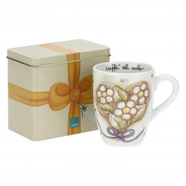 Cerimonia mug with tin box
