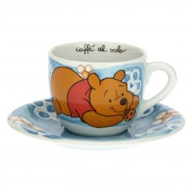 THUN Disney® Winnie The Pooh blue cup with lucky ladybird