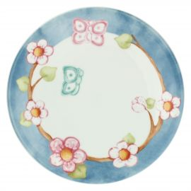 Fiori Di Pesco multipurpose plate with butterfly