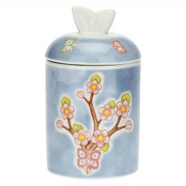 Fiori Di Pesco porcelain jar