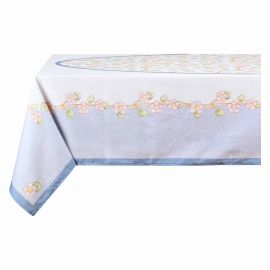 Fiori Di Pesco 12-place tablecloth