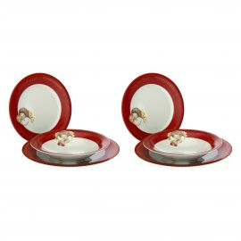 Set of 6 Dolce Natale plates