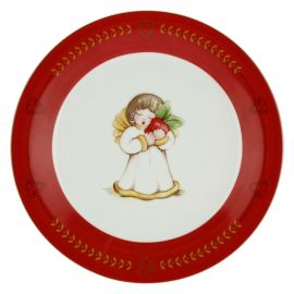 Piattino Dolce Natale angelo