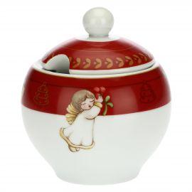 Dolce Natale porcelain sugar bowl