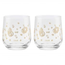 Set of 2 Gold Icons glasses