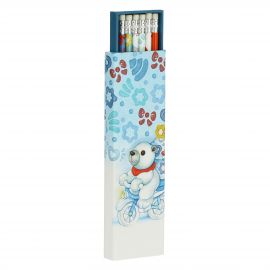 Set of 6 Dolce Inverno pencils