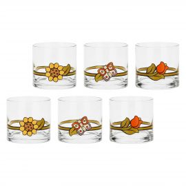 Set of 6 Country liqueur glasses
