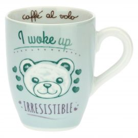 Mug with Teddy - I woke up irresistible