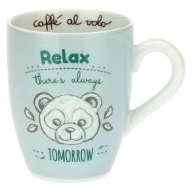 Mug with panda - Relax there's always tomorrow