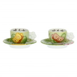 Set of 2 We Are Jungle coffee cups
