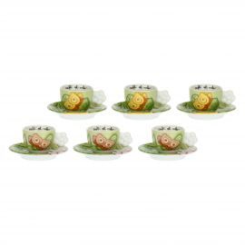 Set of 6 We Are Jungle coffee cups