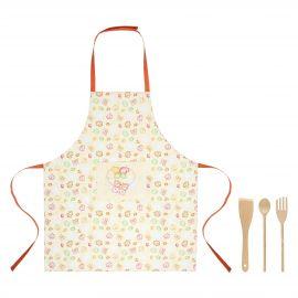 Set of Grace apron with ladles
