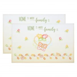 Pack of 2 Grace tablemats