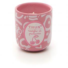 """Pot with candle mini """"Risveglio di primavera"""""""