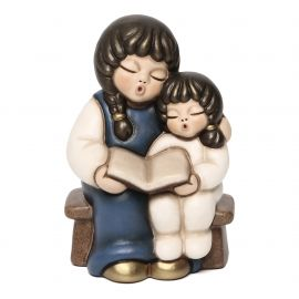 Blue children with book Jubilee Crib