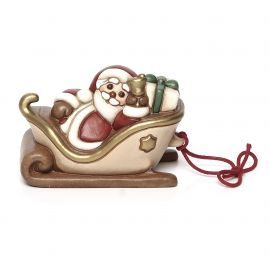 Small sledge with Santa Claus