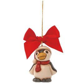 Addobbo per albero di Natale pinguino mini