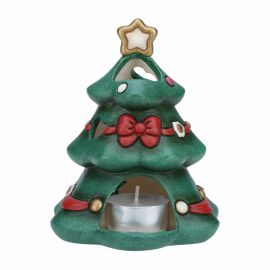 Tea-light holder Christmas tree