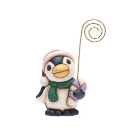 Segna posto pinguino con dolce