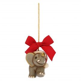 Mini Christmas decoration elephant