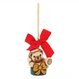 Mini Christmas decoration Teddy in gift