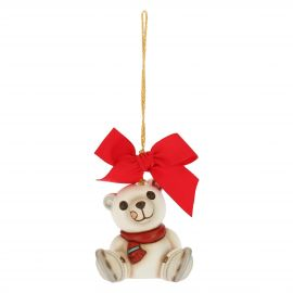Mini Christmas decoration polar bear
