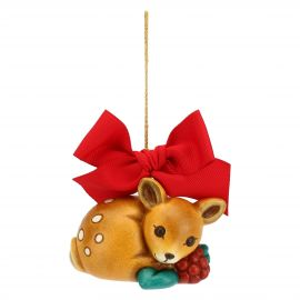 Big Christmas decoration fawn