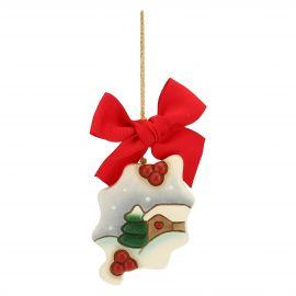WeihnachtsschmuckSchneelandschaft
