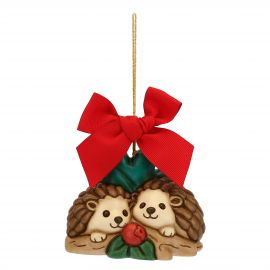 Big Christmas decoration hedgehogs