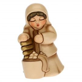 Washerwoman for the Traditional Nativity Scene, beige version